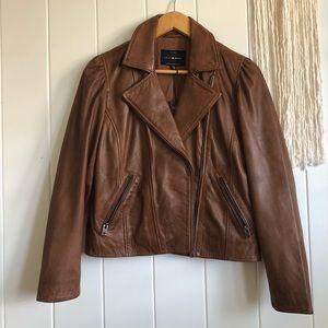 Lucky Brand Genuine Leather Jacket Sz S NWT
